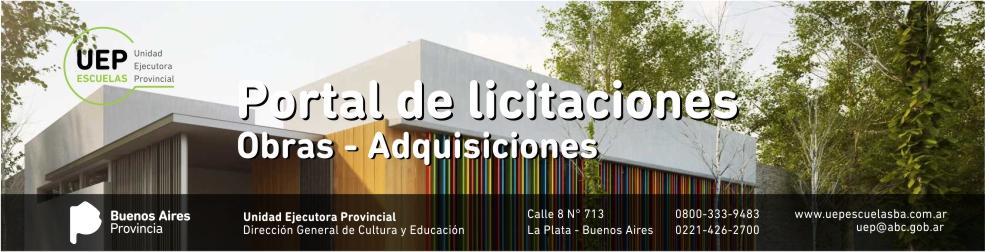 información de obras de la Provincia de Buenos Aires
